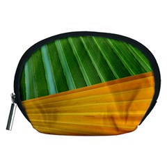 Pattern Colorful Palm Leaves Accessory Pouches (medium)