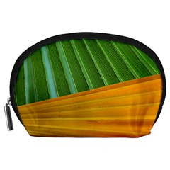 Pattern Colorful Palm Leaves Accessory Pouches (large)