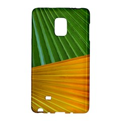 Pattern Colorful Palm Leaves Galaxy Note Edge