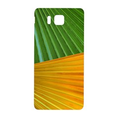 Pattern Colorful Palm Leaves Samsung Galaxy Alpha Hardshell Back Case