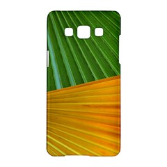 Pattern Colorful Palm Leaves Samsung Galaxy A5 Hardshell Case