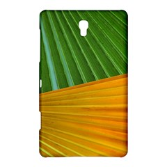 Pattern Colorful Palm Leaves Samsung Galaxy Tab S (8.4 ) Hardshell Case