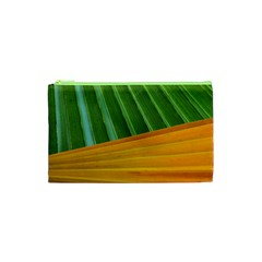 Pattern Colorful Palm Leaves Cosmetic Bag (xs)