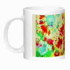 Pattern Decorated Schoolbus Tie Dye Night Luminous Mugs