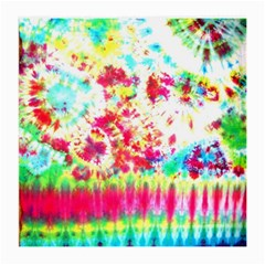 Pattern Decorated Schoolbus Tie Dye Medium Glasses Cloth (2-Side)