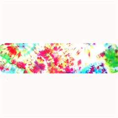 Pattern Decorated Schoolbus Tie Dye Large Bar Mats