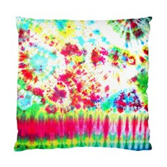 Pattern Decorated Schoolbus Tie Dye Standard Cushion Case (two Sides)