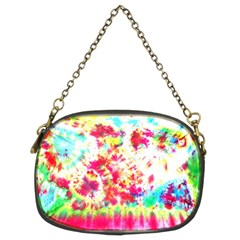 Pattern Decorated Schoolbus Tie Dye Chain Purses (two Sides)