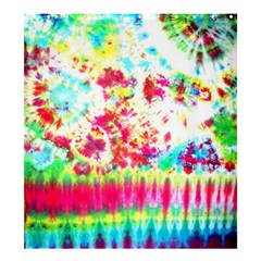 Pattern Decorated Schoolbus Tie Dye Shower Curtain 66  X 72  (large)