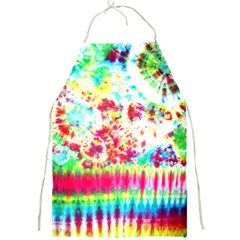 Pattern Decorated Schoolbus Tie Dye Full Print Aprons