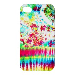 Pattern Decorated Schoolbus Tie Dye Apple iPhone 4/4S Hardshell Case