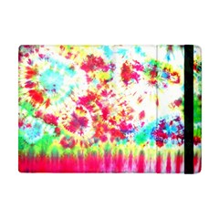 Pattern Decorated Schoolbus Tie Dye Apple Ipad Mini Flip Case