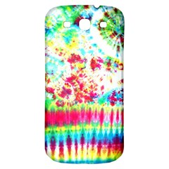 Pattern Decorated Schoolbus Tie Dye Samsung Galaxy S3 S Iii Classic Hardshell Back Case