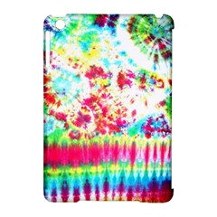 Pattern Decorated Schoolbus Tie Dye Apple Ipad Mini Hardshell Case (compatible With Smart Cover)