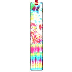 Pattern Decorated Schoolbus Tie Dye Large Book Marks
