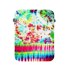 Pattern Decorated Schoolbus Tie Dye Apple Ipad 2/3/4 Protective Soft Cases