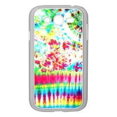 Pattern Decorated Schoolbus Tie Dye Samsung Galaxy Grand Duos I9082 Case (white)
