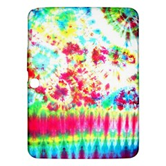 Pattern Decorated Schoolbus Tie Dye Samsung Galaxy Tab 3 (10 1 ) P5200 Hardshell Case