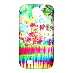 Pattern Decorated Schoolbus Tie Dye Samsung Galaxy S4 Classic Hardshell Case (pc+silicone)