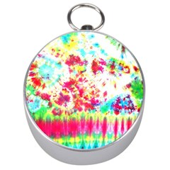 Pattern Decorated Schoolbus Tie Dye Silver Compasses