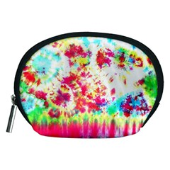 Pattern Decorated Schoolbus Tie Dye Accessory Pouches (medium)