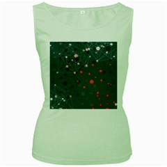 Pattern Seekers The Good The Bad And The Ugly Women s Green Tank Top