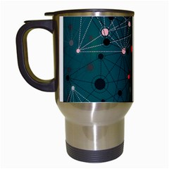 Pattern Seekers The Good The Bad And The Ugly Travel Mugs (white)