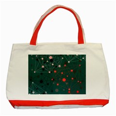 Pattern Seekers The Good The Bad And The Ugly Classic Tote Bag (red)