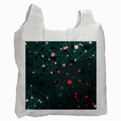 Pattern Seekers The Good The Bad And The Ugly Recycle Bag (one Side)