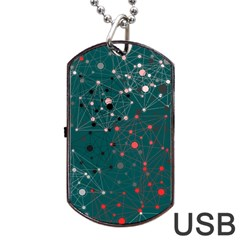 Pattern Seekers The Good The Bad And The Ugly Dog Tag Usb Flash (two Sides)