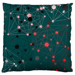 Pattern Seekers The Good The Bad And The Ugly Large Cushion Case (two Sides)