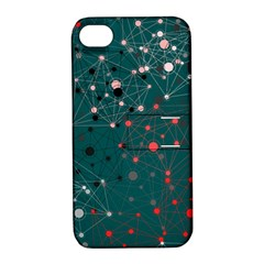 Pattern Seekers The Good The Bad And The Ugly Apple Iphone 4/4s Hardshell Case With Stand