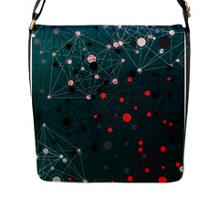 Pattern Seekers The Good The Bad And The Ugly Flap Messenger Bag (l)