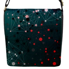 Pattern Seekers The Good The Bad And The Ugly Flap Messenger Bag (s)