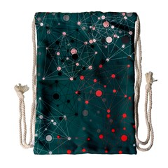 Pattern Seekers The Good The Bad And The Ugly Drawstring Bag (large)