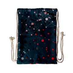 Pattern Seekers The Good The Bad And The Ugly Drawstring Bag (small)