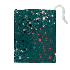 Pattern Seekers The Good The Bad And The Ugly Drawstring Pouches (extra Large)