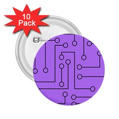 Peripherals 2 25  Buttons (10 Pack)