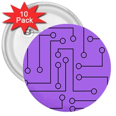 Peripherals 3  Buttons (10 Pack)