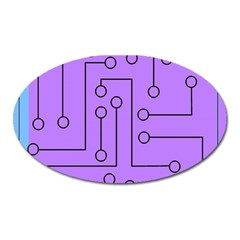 Peripherals Oval Magnet