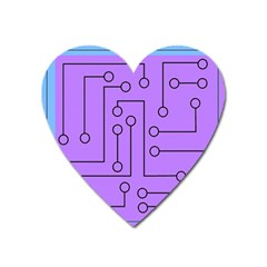 Peripherals Heart Magnet
