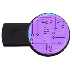 Peripherals Usb Flash Drive Round (2 Gb)