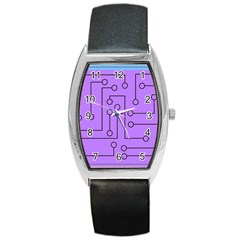 Peripherals Barrel Style Metal Watch