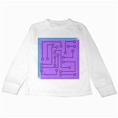 Peripherals Kids Long Sleeve T Shirts
