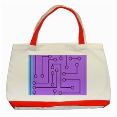 Peripherals Classic Tote Bag (red)