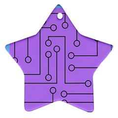 Peripherals Star Ornament (two Sides)