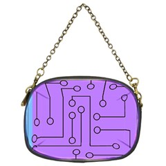 Peripherals Chain Purses (two Sides)