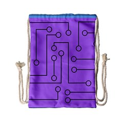 Peripherals Drawstring Bag (small)