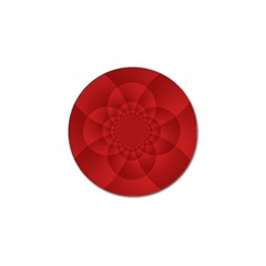 Psychedelic Art Red  Hi Tech Golf Ball Marker
