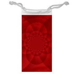 Psychedelic Art Red  Hi Tech Jewelry Bag